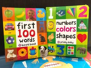 Brand new children's book first 100 words and shapes