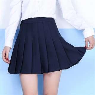 INSTOCK Tennis Skirt in Navy