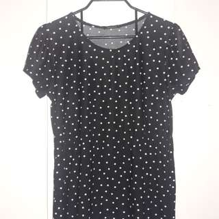 Preloved Polka Dots Top