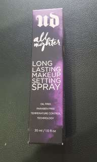 Urban Decay All Nighter - Long Lasting Makeup Setting Spray