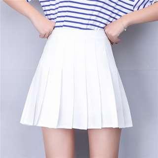 INSTOCK Tennis Skirt in White