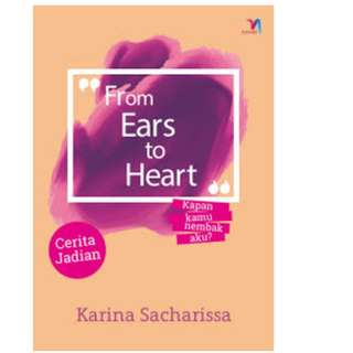 Ebook From Ears to Heart - Karina Sacharissa