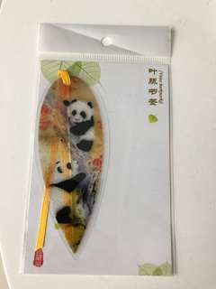 Veins Panda Bookmark
