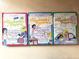 THE POPULARITY PAPERS BOOKS 2-4 (sold as set)