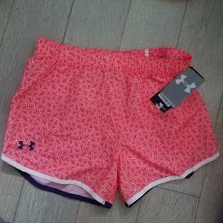 Brand new Under Armour Girls shorts, size Large