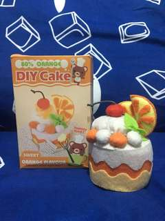 製成品 DIY 香橙蛋糕 Orange Cake