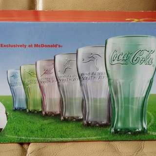 麥當勞可口可樂玻璃杯 (FlFA W0RLD CUP S0UTH AFRlCA)