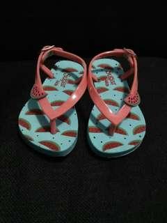 Sugar kids slippers size 4