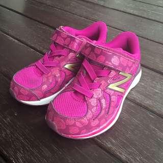 New Balance Disney Beauty and the Beast Girls Kids Sneakers Purple US 11 UK 10.5