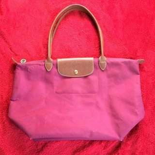 Longchamp Le Pliage Long Handle