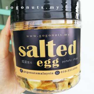 Salted Egg POTATO CHIPS 150g