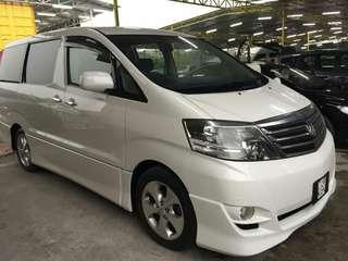 Toyota Alphard 2.4 CASH N CARRY