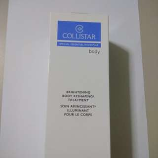 1 for 1 Collistar: Brightening body reshaping treatment