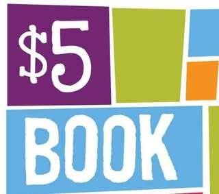 $5 BOOKS