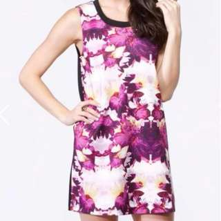 Staple The Label Flamingo Bloom Muscle Dress - Size 12