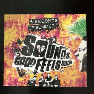 5SOS SOUNDS GOOD FEELS GOOD ALBUM
