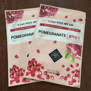Etude House Pomegranate Face Mask