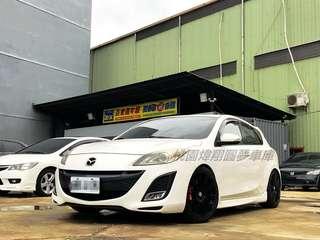 2010年 Mazda3 受夠了風吹雨淋? 該犒賞自己了吧 歡迎來電0938-552-004 一定給你甜甜價