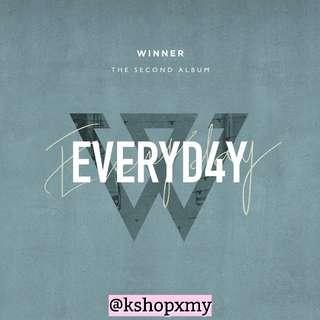 Winner 2nd Full Album - ' Everyd4y '