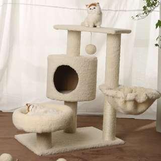 座地小型貓架