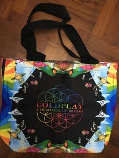 Limited Edition Coldplay Bag