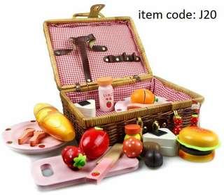 Strawberry picnic set