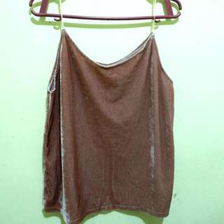 Old Rose Relvet Top