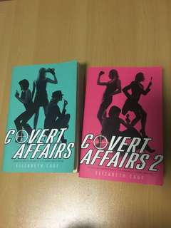 Covert Affairs by Elizabeth Cage