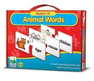 Match it Animal words