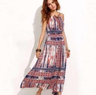 Boho/ Cochella Maxi Dress