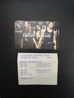 DKNY high fashion couple MRT transit card