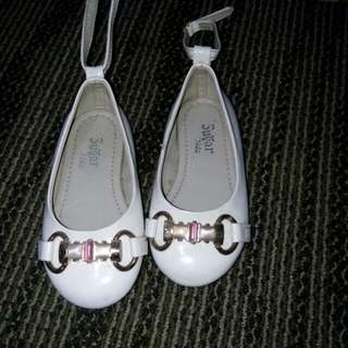 White shoes for christening