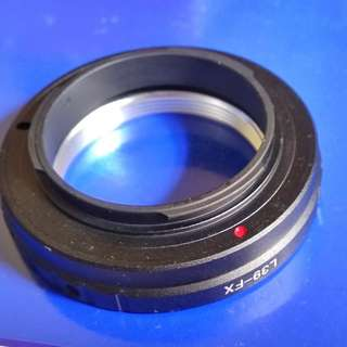 Leica LTM to Fujifilm FX lens adaptor