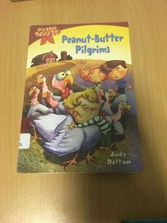 Pee wee scouts - peanut butter pilgrims by Judy Delton