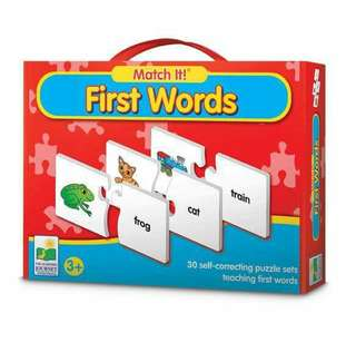 Match it first words