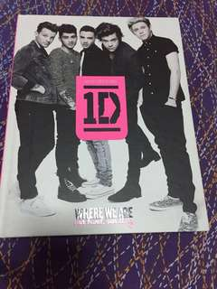 (URGENT CLEARENCE) One Direction 'Where We Are' Book