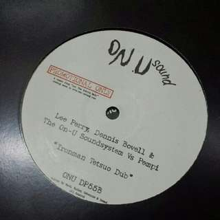 "Lee Perry, Dennis Bovell &The On-U Soundsystem VsPempi ‎– Ironman - Vinyl Record 12"" - Dub, Dubstep"