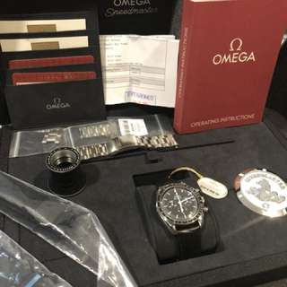 Omega Speedmaster Full set