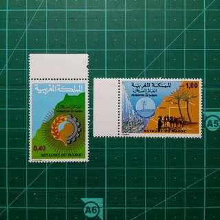 [均一價$10]1978 摩洛哥 撒哈拉沙漠發展 新票一套