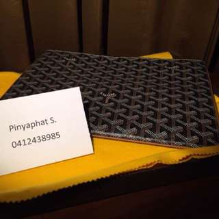 Goyard Laptop sleeve