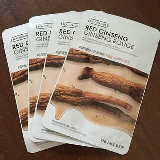 The Faceshop Red Ginseng Face Mask