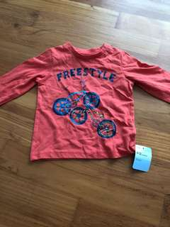 Mothercare brand new long sleeves top