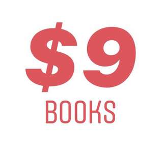$9 BOOKS