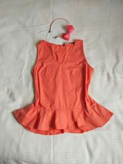 Forme Clothing Peach Blouse