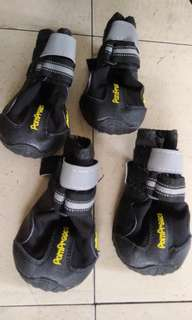 寵物用品 pet accessories 狗狗鞋 walking boots  size 6