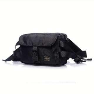 Porter Waist bag/shoulder bag for Men's Messenger [Waterproof Fabrics]