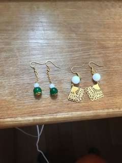 🔥DIY 中國風 ear ring 🌸 包本地平郵☄️🚛