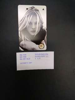 Hugo Boss Women fragrance MRT card
