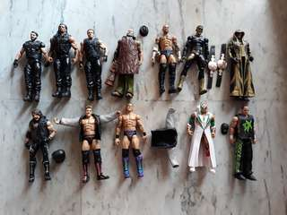 WWE Used Elite Figures