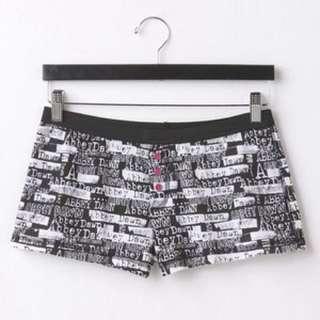 Abbey Dawn by Avail Lavigne Panama Shorts 短褲 家居褲